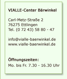 VIALLE-Center B�rwinkel